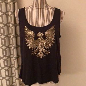 Rachel Roy sequined tank.